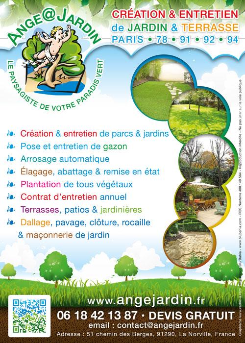 Flyer Ange Jardin